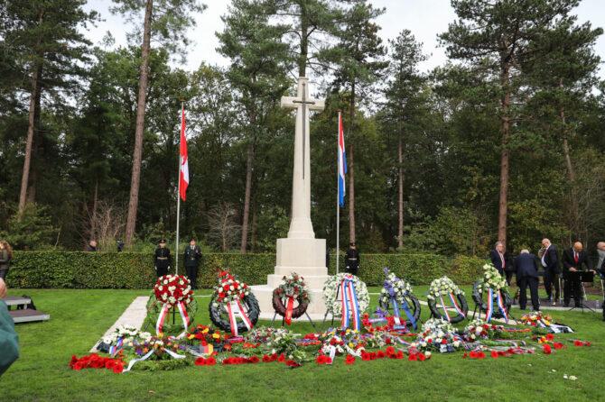 24 oktober 2021 – Herdenking Canadese begraafplaats