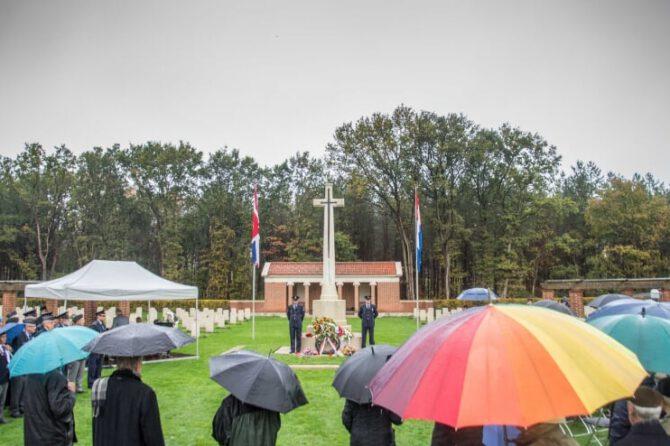 27 oktober 2021 – Herdenking Brits ereveld